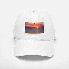 Sunrise over the Atlantic Ocean.... Baseball Baseball Cap