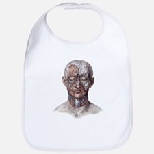 Human Anatomy Face Bib