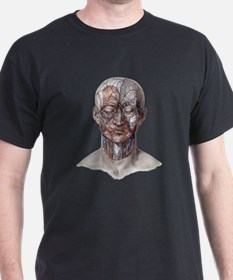Human Anatomy Face T-Shirt