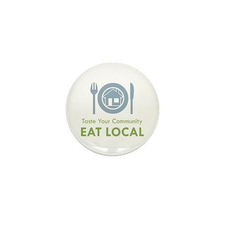 Taste Local Mini Button