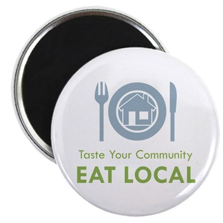 "Taste Local 2.25"" Magnet (100 pack)"