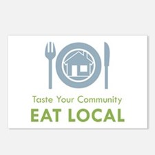 Taste Local Postcards (Package of 8)