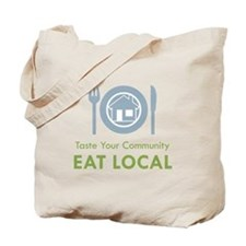 Taste Local Tote Bag