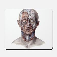 Human Anatomy Face Mousepad