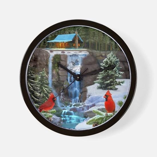 The Cardinal Rules Wall Clock