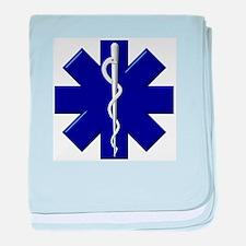 EMS / EMT Shield baby blanket