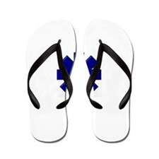 EMS / EMT Shield Flip Flops
