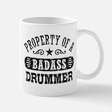 Property of a Badass Drummer Small Small Mug