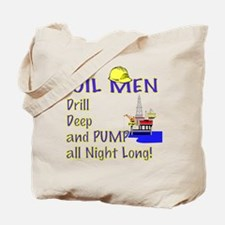 Oil Men Single side print Tote Bag