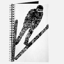Vintage Ski Jumper Journal