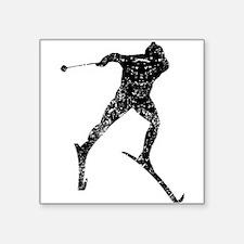 Vintage Cross Country Skier Sticker