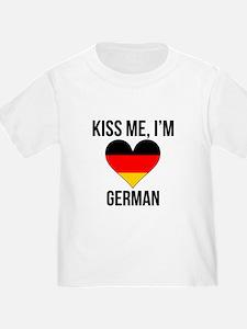 Kiss Me Im German T-Shirt