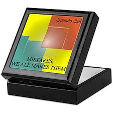 Mistakes EP Cover Keepsake Box