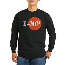 Einstein E=MC2 Long Sleeve T-Shirt