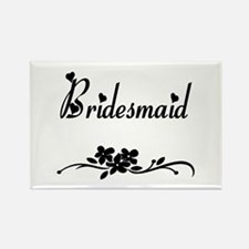 Classic Bridesmaid Rectangle Magnet