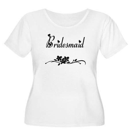 Classic Bridesmaid Women's Plus Size Scoop Neck T-