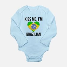 Kiss Me Im Brazilian Body Suit