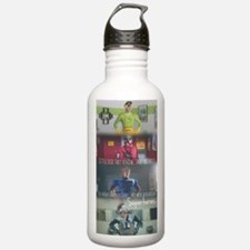5sos superheroes  Water Bottle