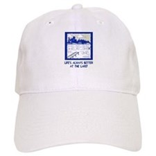 Life is always better at the lake Baseball Baseball Cap