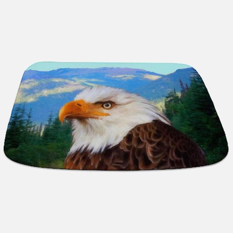 Bald Eagle Bathmat