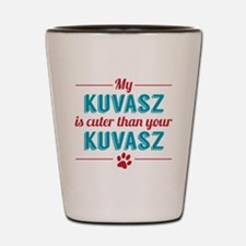 Cuter Kuvasz Shot Glass