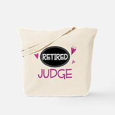 Retired Judge Tote Bag