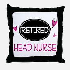 Retired Head Nurse Throw Pillow