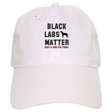 Black Labs Matter Baseball Cap