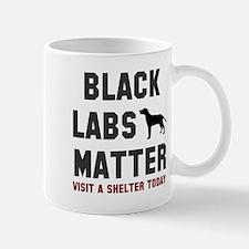 Black Labs Matter Mug