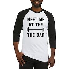 Meet me at the bar Baseball Jersey