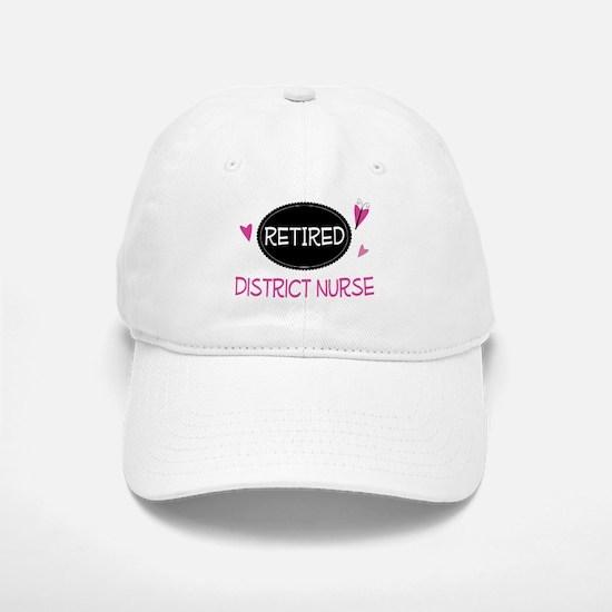 Retired District Nurse Baseball Baseball Cap