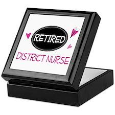Retired District Nurse Keepsake Box