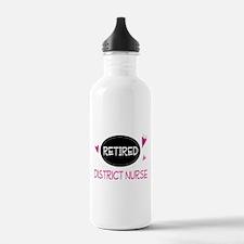 Retired District Nurse Water Bottle