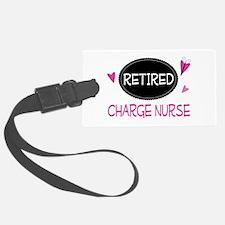 Retired Charge Nurse Luggage Tag