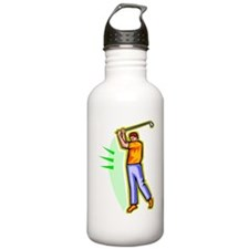 Golfer Water Bottle