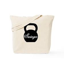 Kettlebell Swinger Tote Bag