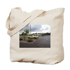 An Antique Truck Tote Bag