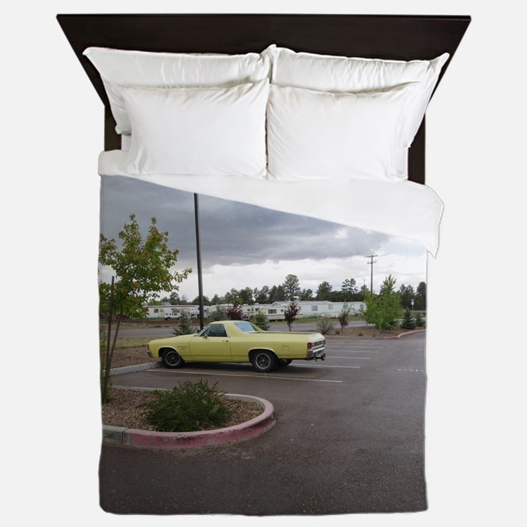 An Antique Truck Queen Duvet