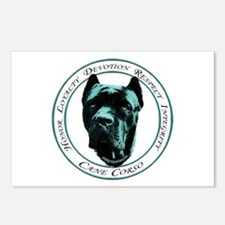 Cute Cane corso mastiff Postcards (Package of 8)