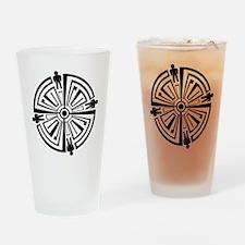 Haven Guard Tattoo Drinking Glass