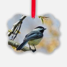 Spring Chickadee Ornament