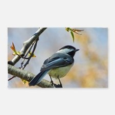 Spring Chickadee Area Rug