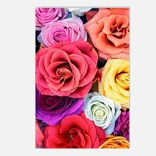 Unique Rose red Postcards (Package of 8)