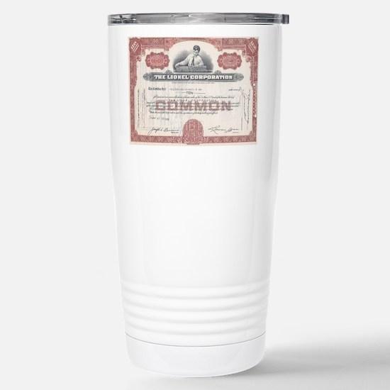 Lionel 1940s Stainless Steel Travel Mug