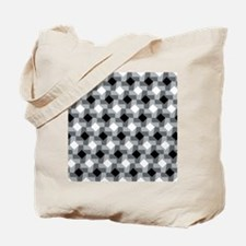 Blurry Houndstooth Tote Bag