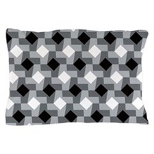 Blurry Houndstooth Pillow Case