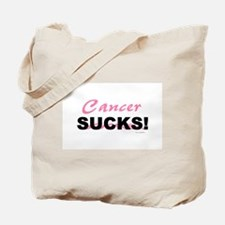 Cancer Sucks (BC) Tote Bag