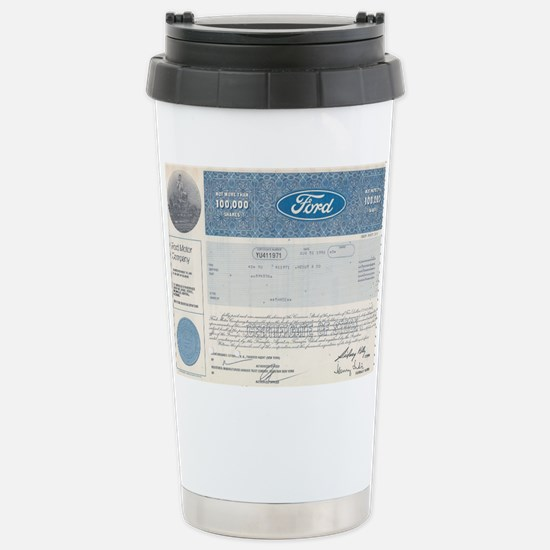 Ford Stock Stainless Steel Travel Mug