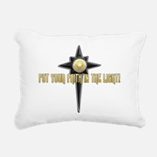 Faith in the Light Rectangular Canvas Pillow