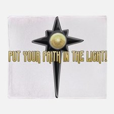 Faith in the Light Throw Blanket